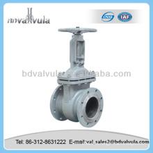 GOST fundição de aço flange flangeado válvula de portão dn80 pn16
