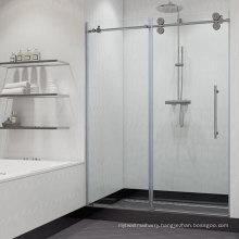 Seawin Sliding Glass Doors Small Slide Bottom System Plastic Clips Sale Brushed Brass Shower Door