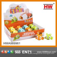 Cartoon Funny Children Toys Small Plastic Toys W/U 8CM Bees 12PCS/BOX