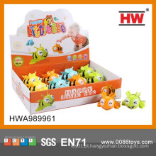 Brinquedos engraçados dos desenhos animados pequenos brinquedos plásticos W / U 8CM Abelhas 12PCS / BOX