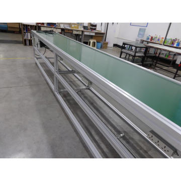 Venta al por mayor de Green PVC Belt Conveyor Line