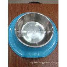 Меламин и чаша из нержавеющей стали для домашних животных