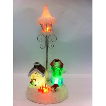 High Quality Led Christmas Snowman House