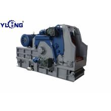 Astilladora de madera Yulong T-Rex65120A con cinta transportadora