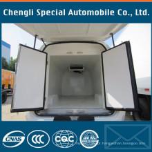 O caminhão de Dongfeng montou a caixa refrigerada Van da carga da unidade