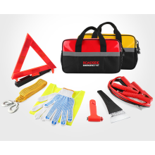 Auto Roadside Emergency Car Kit With Jumper Cables