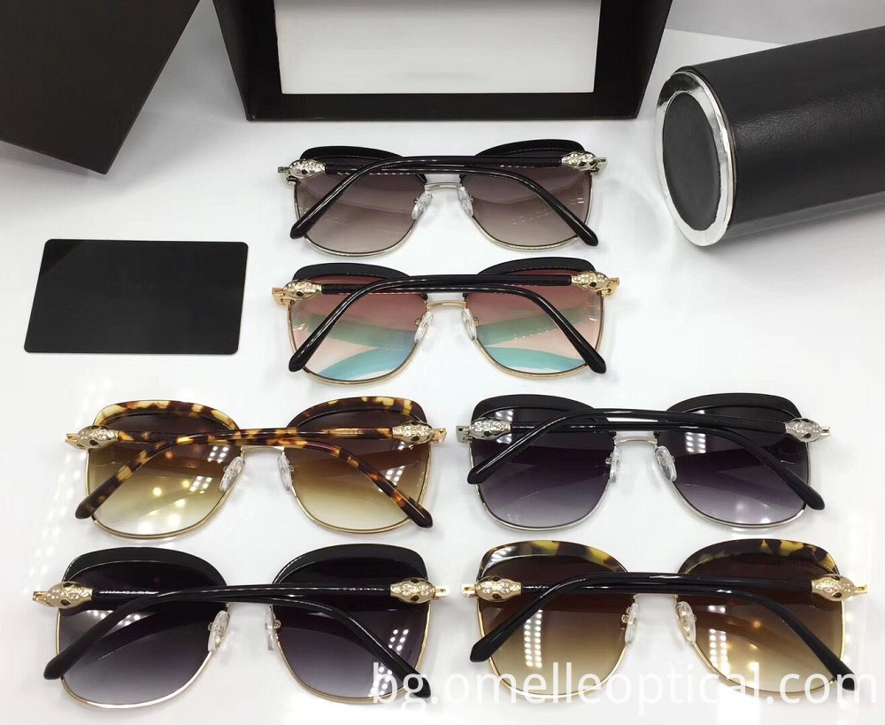 Square Black Sunglass