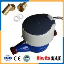Hot Plastic Electronic Water Meter 15mm-20mm Remote Reading by GPRS