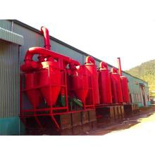Horno de carbonización de aserrín de diseño de desechos más nuevo diseño