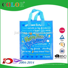 малые PP Non сплетенный мешок, хозяйственная сумка застежки-молнии, мешок застежки-молнии с карманн