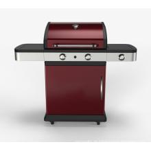 Heißer Verkauf 2 Brenner Gas BBQ Grill Barbecue zum Verkauf