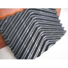 Película gris rígida de PVC para rellenar la torre de enfriamiento