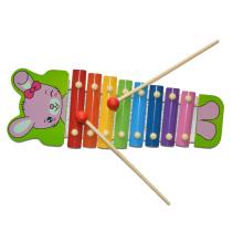 Conejito de madera del xilófono del juguete de la música (81941-2)
