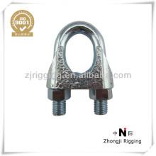 Pince de câble métallique malléable de matériel de construction DIN741