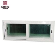 petites fenêtres coulissantes en pvc avec vitrail Petites fenêtres coulissantes en UPVC avec vitrail