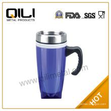 plastic auto mug with handle