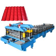Metal roof tile making machine price