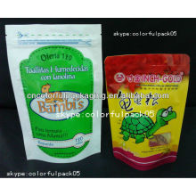 wainwrights cão sacos de comida de plástico / alimentos para cães secos folha de alumínio sacos de fecho de correr fresco