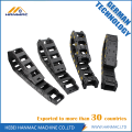 Black Long Plastic Drag Chain CNC Machine Tool
