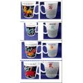 Twelve Chinese Zodiac Signs Ceramic Mugs Set for Wholesale