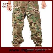 Рукописная камуфляж брюки брюки военные боевые штаны