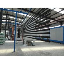 Pulverbeschichtetes Stahlrohr, das als oberes Balkongeländer verwendet wird