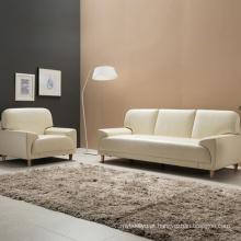 Novo sofá de couro moderno mobiliário Home Design