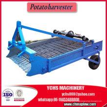 Colheitadeira de batata agrícola montada trator agrícola