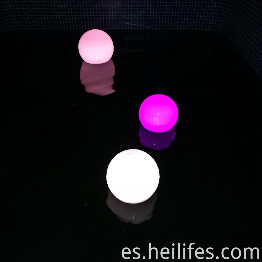 Color Changing LED Glow Ball Lamp