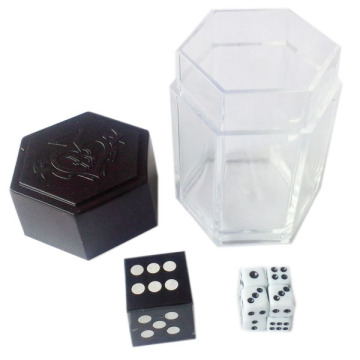 Easy Kids Magic Dice Props Tricks Dice Bomb