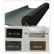 Membrane imperméable à l'eau bitumineuse modifiée pour construction