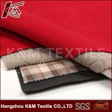 Высокая эластичной ткани нетканый материал с ТПУ и флис 3 слоя