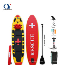 Aufblasbare Rettungs-SUP-Paddle-Boards Surfbrett