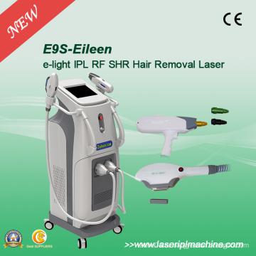 Профессиональная машина для удаления волос лазера IPL Elight