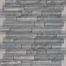 Living Room Wall Decorative Crystal Long Strip Glass Mosaic
