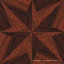 Revestimento de madeira projetado parquete rústico high-end requintado