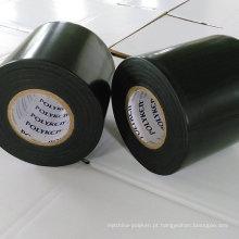 Sistema anticorrosivo de fita PE / Butil: 25mil * 4in * 400ft (preto)