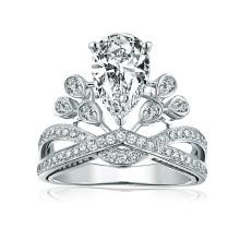 Оптовые ювелирные изделия кольца диаманта способа ювелирных изделий способа ювелирные изделия для женщин
