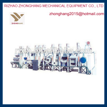 MCHJ série preço moinho de arroz planta de máquinas agrícolas