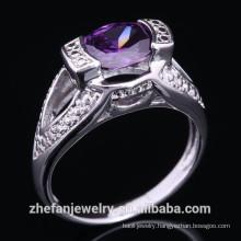 Alibaba Fashion rhodium plating Wholesale silver wedding rings poland