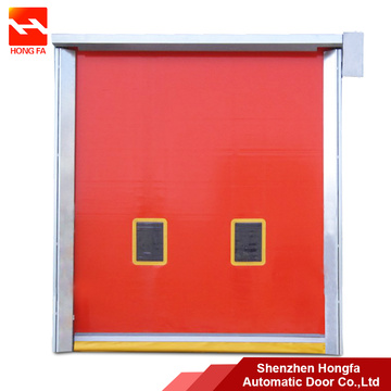Själv reparation PVC High Speed ​​Rolling Repaid Door