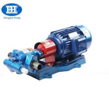 Bomba de óleo de engrenagem rotativa de transferência 380v a gasolina com válvula de segurança