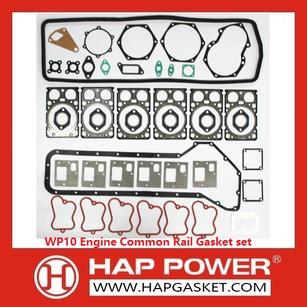 HAP-HD-013 WP10 Engine Common Rail Gasket set