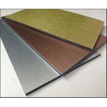 Brush Finished Aluminium-Verbundplatten