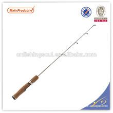 ICR055 graphite canne à pêche blanc canne à pêche weihai oem carbone glace canne à pêche