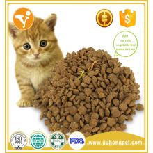 De alta calidad y proteínas de carne de vacuno de sabor seco comida para gatos