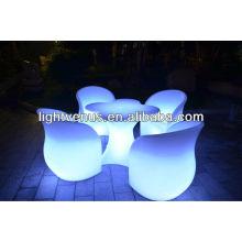 Sofá LED con tapa exterior