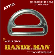 A7750 geschmiedetes Aluminium Big Single Slot D Ring