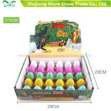 Nouveaux jouets colorés pour animaux de compagnie Dinasour oeufs à couver oeufs 3 * 5cm