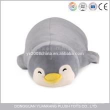 Al por mayor negocio almohada suave pingüino en forma de juguete de peluche